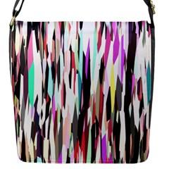 Randomized Colors Background Wallpaper Flap Messenger Bag (s)