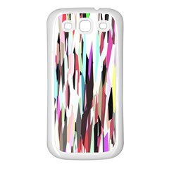 Randomized Colors Background Wallpaper Samsung Galaxy S3 Back Case (white)