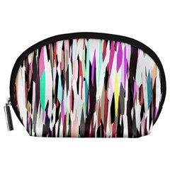 Randomized Colors Background Wallpaper Accessory Pouches (large)
