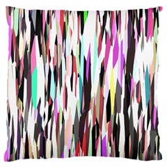 Randomized Colors Background Wallpaper Large Flano Cushion Case (two Sides)