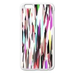 Randomized Colors Background Wallpaper Apple iPhone 6 Plus/6S Plus Enamel White Case