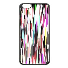 Randomized Colors Background Wallpaper Apple iPhone 6 Plus/6S Plus Black Enamel Case