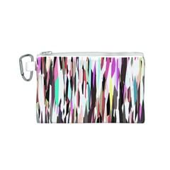 Randomized Colors Background Wallpaper Canvas Cosmetic Bag (s)