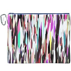 Randomized Colors Background Wallpaper Canvas Cosmetic Bag (xxxl)
