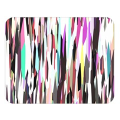 Randomized Colors Background Wallpaper Double Sided Flano Blanket (Large)