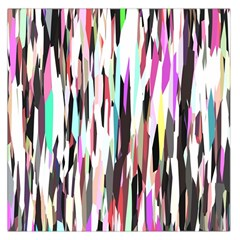 Randomized Colors Background Wallpaper Large Satin Scarf (square)
