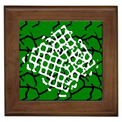Abstract Clutter Framed Tiles