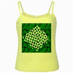 Abstract Clutter Yellow Spaghetti Tank