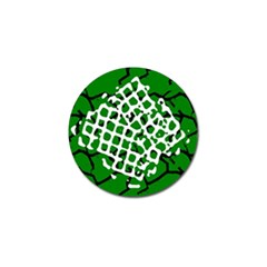 Abstract Clutter Golf Ball Marker (4 Pack)