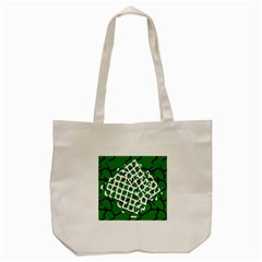Abstract Clutter Tote Bag (cream)