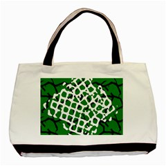 Abstract Clutter Basic Tote Bag