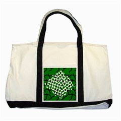 Abstract Clutter Two Tone Tote Bag