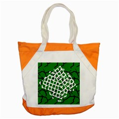Abstract Clutter Accent Tote Bag