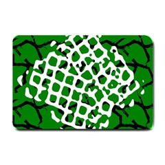 Abstract Clutter Small Doormat