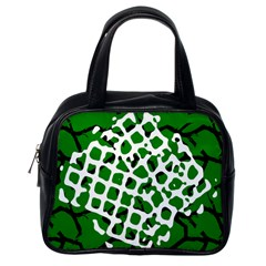 Abstract Clutter Classic Handbags (One Side)