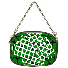 Abstract Clutter Chain Purses (One Side)