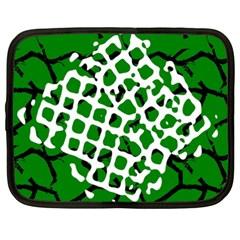 Abstract Clutter Netbook Case (xxl)