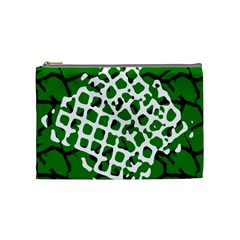 Abstract Clutter Cosmetic Bag (Medium)
