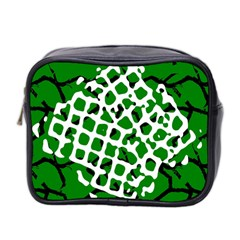 Abstract Clutter Mini Toiletries Bag 2-Side