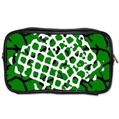 Abstract Clutter Toiletries Bags