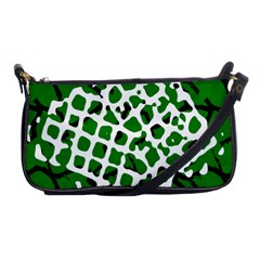 Abstract Clutter Shoulder Clutch Bags
