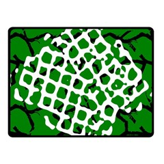 Abstract Clutter Fleece Blanket (Small)