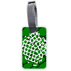 Abstract Clutter Luggage Tags (One Side)