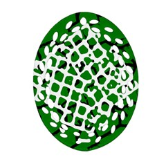 Abstract Clutter Ornament (Oval Filigree)