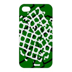 Abstract Clutter Apple iPhone 4/4S Hardshell Case