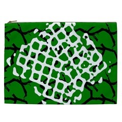 Abstract Clutter Cosmetic Bag (xxl)