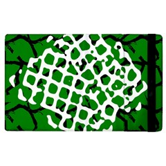Abstract Clutter Apple iPad 3/4 Flip Case