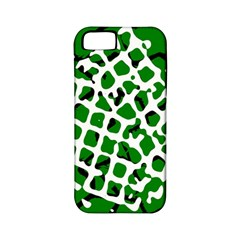 Abstract Clutter Apple iPhone 5 Classic Hardshell Case (PC+Silicone)