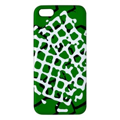Abstract Clutter Apple iPhone 5 Premium Hardshell Case