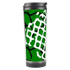 Abstract Clutter Travel Tumbler