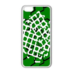 Abstract Clutter Apple iPhone 5C Seamless Case (White)