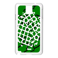 Abstract Clutter Samsung Galaxy Note 3 N9005 Case (white)