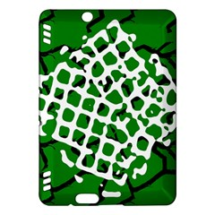 Abstract Clutter Kindle Fire HDX Hardshell Case
