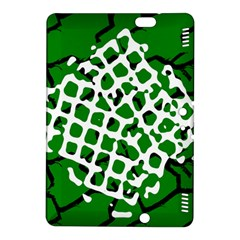 Abstract Clutter Kindle Fire HDX 8.9  Hardshell Case