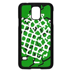 Abstract Clutter Samsung Galaxy S5 Case (Black)