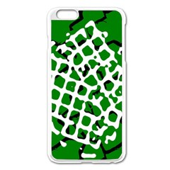 Abstract Clutter Apple iPhone 6 Plus/6S Plus Enamel White Case