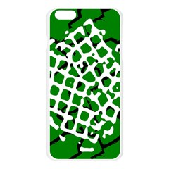 Abstract Clutter Apple Seamless iPhone 6 Plus/6S Plus Case (Transparent)