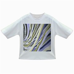 Wavy Ribbons Background Wallpaper Infant/Toddler T-Shirts