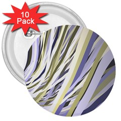 Wavy Ribbons Background Wallpaper 3  Buttons (10 pack)