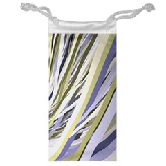Wavy Ribbons Background Wallpaper Jewelry Bag