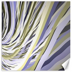 Wavy Ribbons Background Wallpaper Canvas 16  X 16