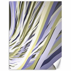 Wavy Ribbons Background Wallpaper Canvas 18  x 24