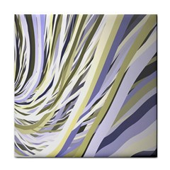 Wavy Ribbons Background Wallpaper Face Towel