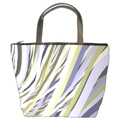 Wavy Ribbons Background Wallpaper Bucket Bags
