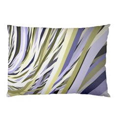 Wavy Ribbons Background Wallpaper Pillow Case