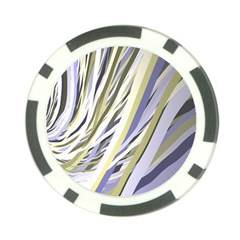 Wavy Ribbons Background Wallpaper Poker Chip Card Guard (10 pack)